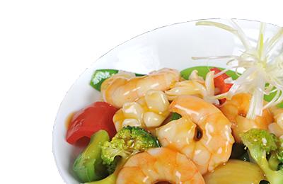 Shrimps with Mix Vegetables